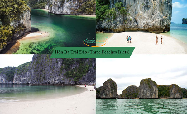 ba trai dao- Three Peaches Islets